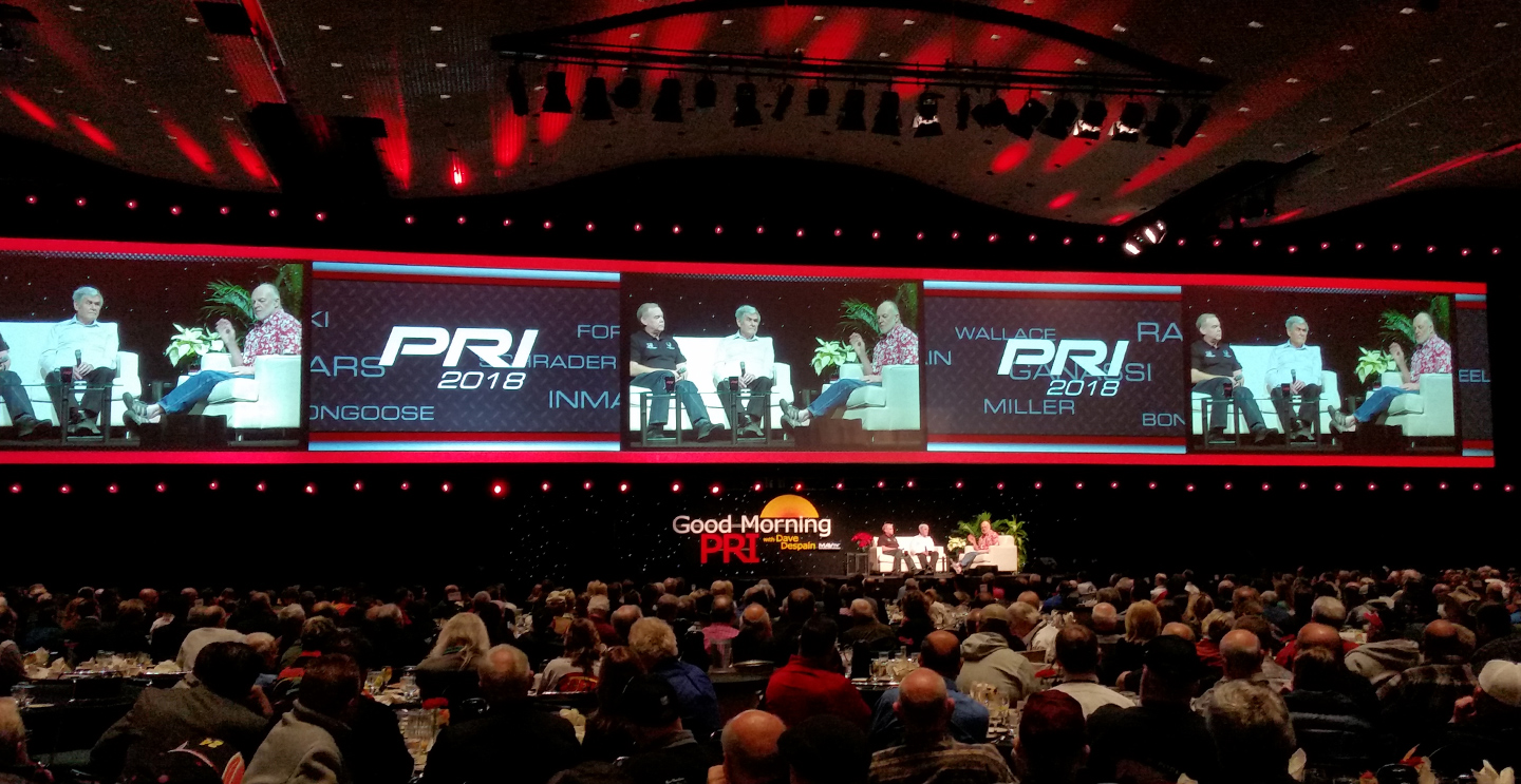 Performance Racing Industry Tradeshow 2018